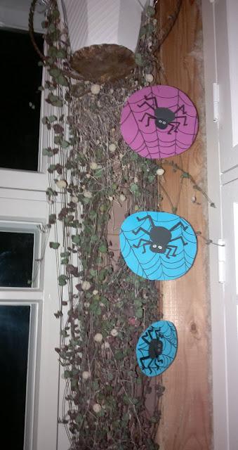 halloween askarteluohje hämähäkit
