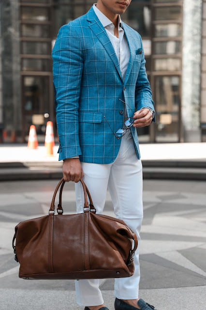 Wearing a Windowpane Sport Coat | Levitate Style