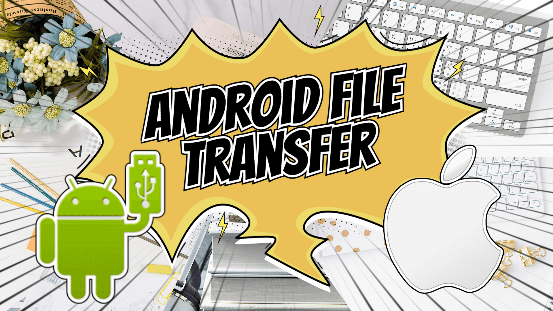 Android File Transfer:传送手机档案至 Mac