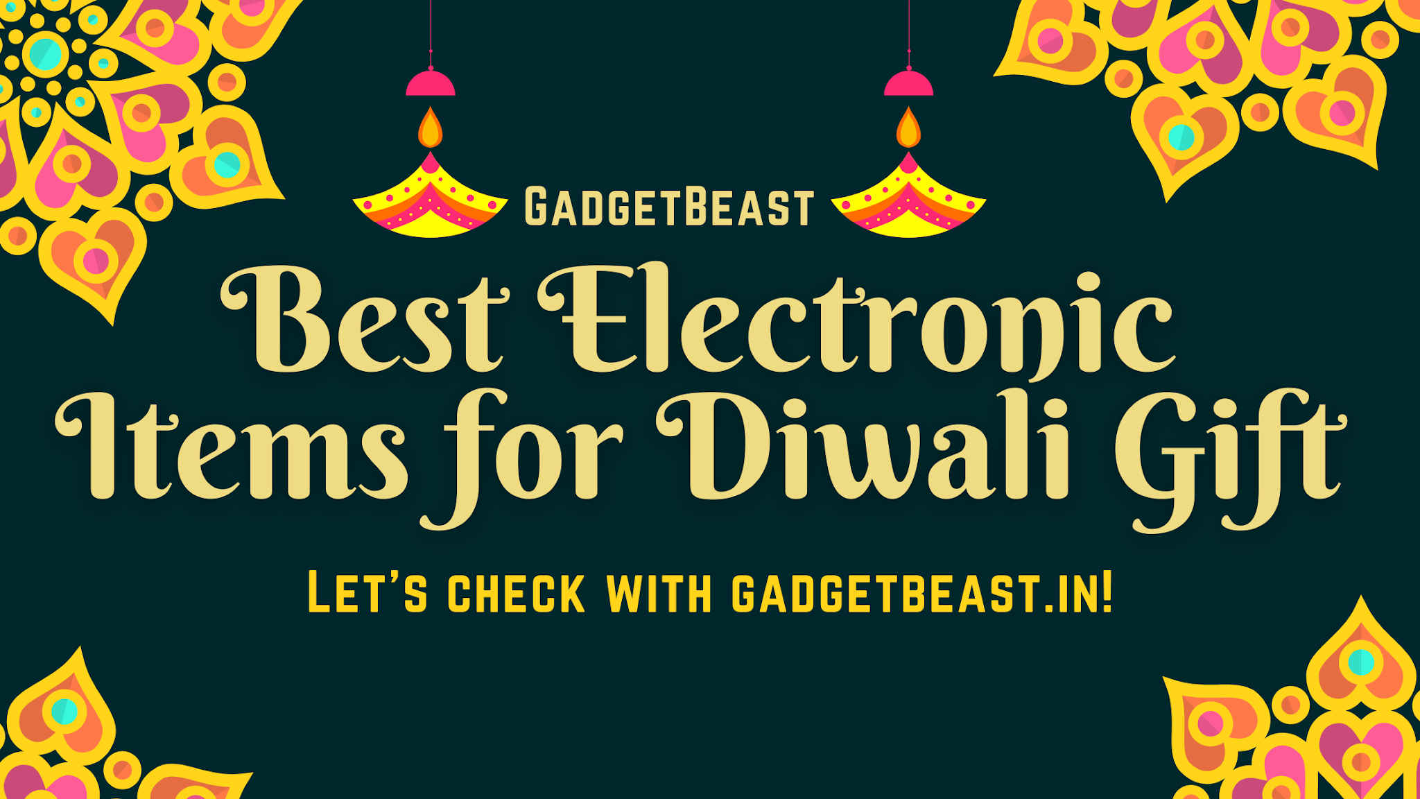Best Electronic Items for Diwali Gift