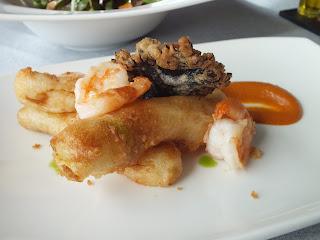 Calçots tempura Esmarris Sitges