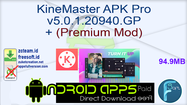 KineMaster APK Pro v5.0.1.20940.GP + (Premium Mod)