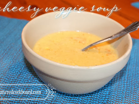 Cheesy Veggie Soup recipe