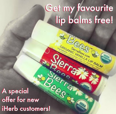 Free Lipgloss Coupon Code from iHerb.com