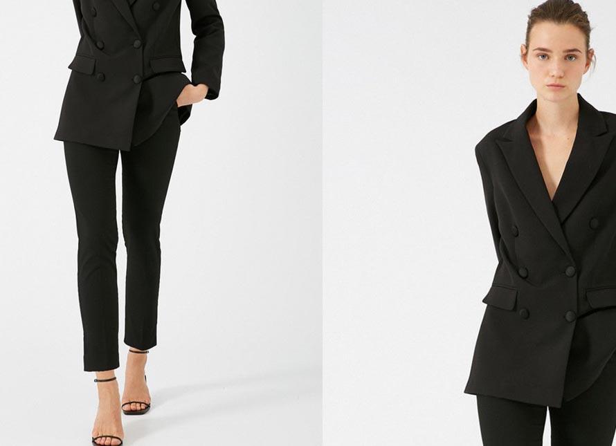 Pantaloni dama office / eleganti moderni ieftini