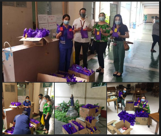 """Gift Giving / Outreach Activity """"Patuloy ang Pagdulot ng Ngiti"""