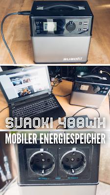 Gear of the Week #GOTW KW 17 |  Suaoki 400Wh Mobiler Energiespeicher | Solar Generator | Spannungswandler AC DC | Energie Wohnmobil | Solarstrom-Camper