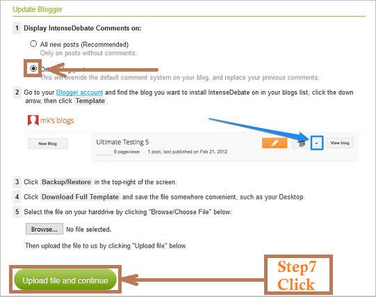 Add intensedebate to blogger, install setting intensedebate, add intensedebate to blogspot