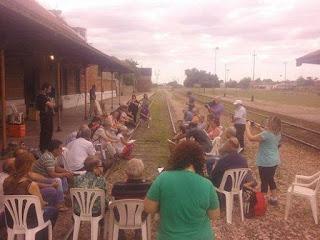 Segunda Asamblea de Pueblos por el Tren, en Saavedra