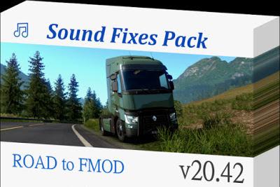 Sound Fixes Pack v20.42 - ETS2 1.38