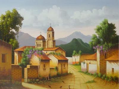 Cuadros modernos pinturas y dibujos 01 05 13 - Cuadros estilo colonial ...
