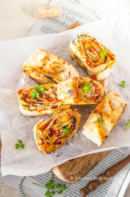 Rollsy z tortilli