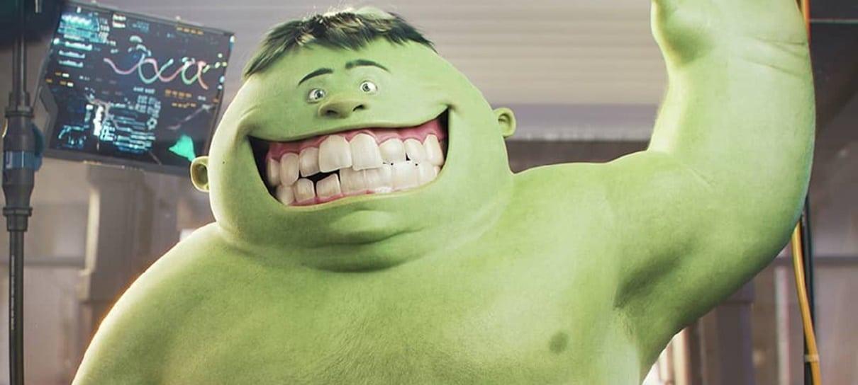 Como seria se o Hulk fosse um personagem da Pixar?