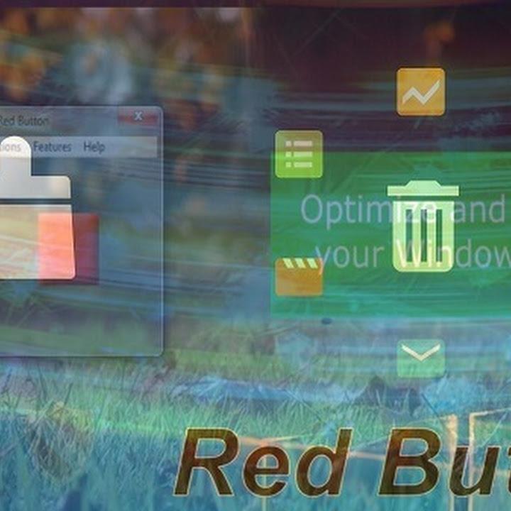 أفضل برنامج تسريع الكمبيوتر Red Button مجاني وحل مشكلة بطء