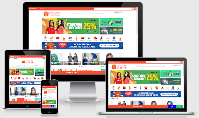 homepage shopee THEME