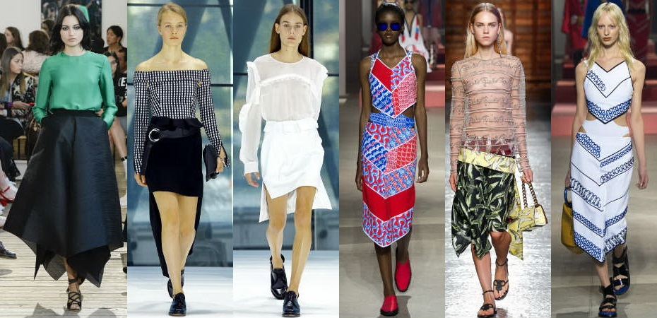 Spring Summer 2016 Skirts Fashion Trends