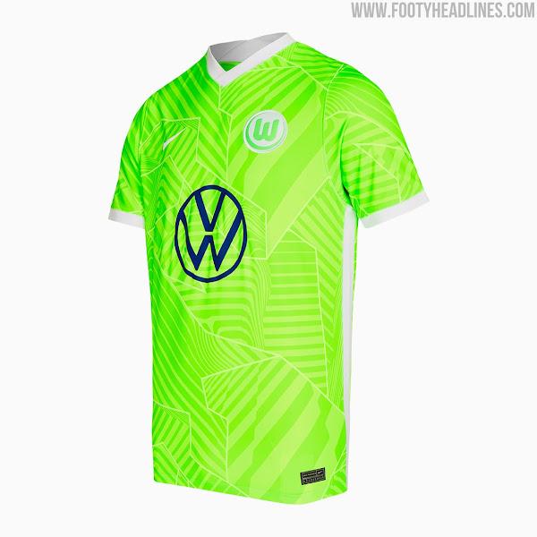 VfL Wolfsburg 21-22 Home & Away Kits Released - Footy Headlines