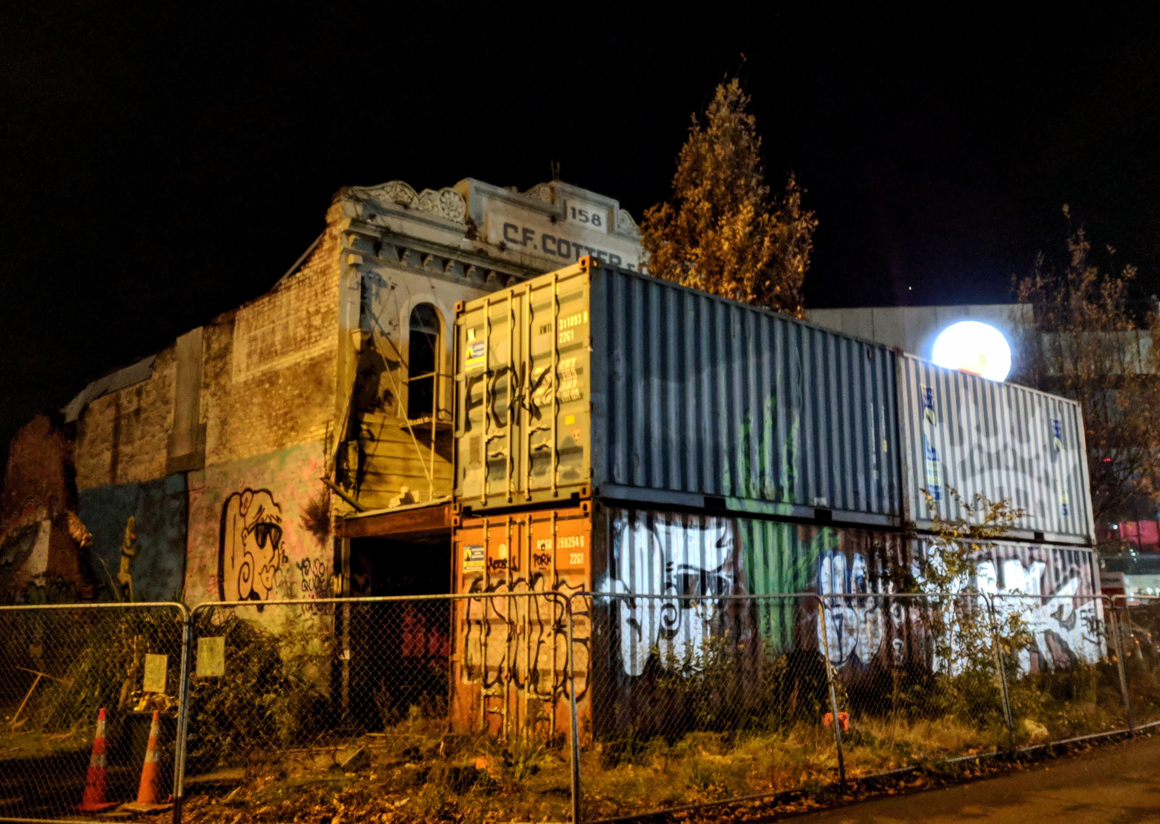 Damaged CF Cotter building, Christchurch (NZ)
