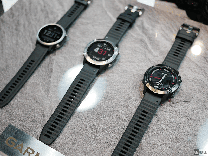 Full view of the watches
