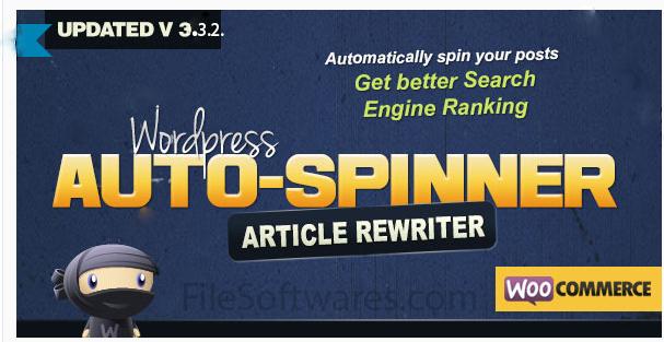 Download WordPress Auto Spinner - Articles Rewriter Free