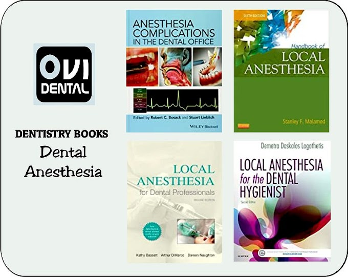7 DENTAL ANESTHESIA BOOKS that every specialist must read