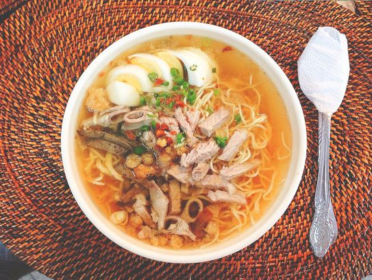 La Paz Batchoy from the Visayas