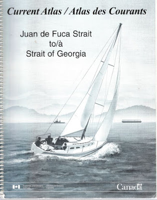 Straight of Georgia - Juan de Fuca  current atlas