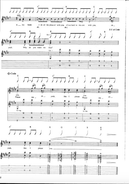 The Beatles - Please Please Me partitura