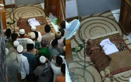 Inilah Imam Shalat Jumat di Samarinda ini Meninggal Saat Sujud di Rakaat Pertama