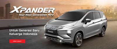 Spesifikasi dan Harga Mitsubishi Xpander 2018
