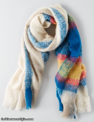 American Eagle Outfitters Scarf For Girls www.fashionwearstyle.com