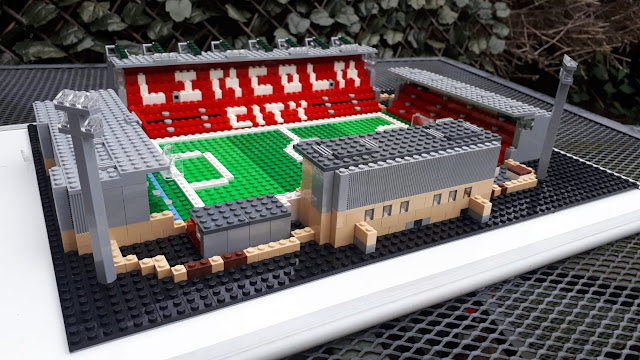 Lincoln City - Sincil Bank - In Lego!