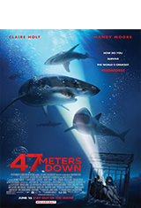 47 Meters Down (2017) BRRip 1080p Latino AC3 2.0 / Español Castellano AC3 5.1 / ingles AC3 5.1 BDRip m1080p