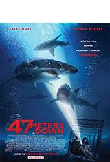 A 47 metros (2017) BDRip 1080p Latino AC3 2.0 / Español Castellano AC3 5.1 / ingles DTS 5.1