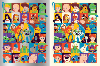 Toy Story Screen Print by Dave Perillo x Eyeland Prints x Bottleneck Gallery