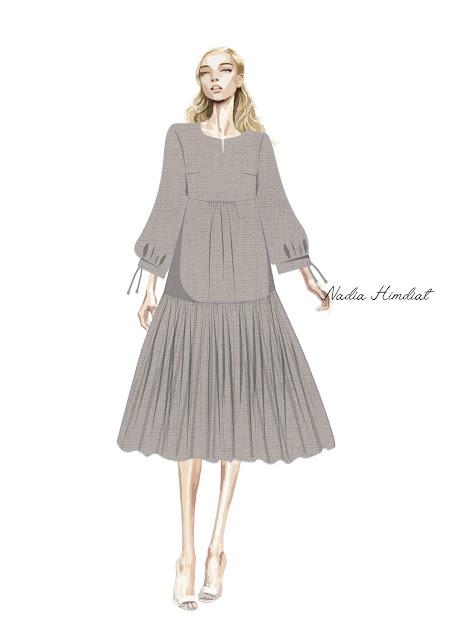 Платье. Модель PL-394