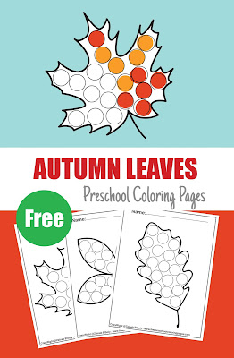 fall autumn leaves coloring pages fall autumn images fall autumn activities fall autumn activities for toddlers kindergarten fall autumn leaf activities free preschool coloring pages do a dot activity