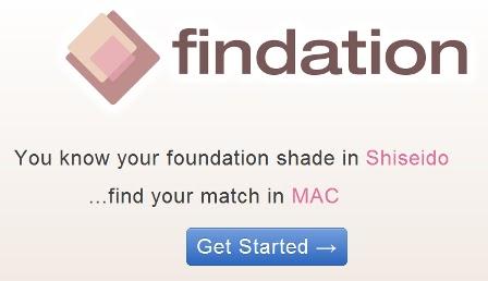 findation foundation color match