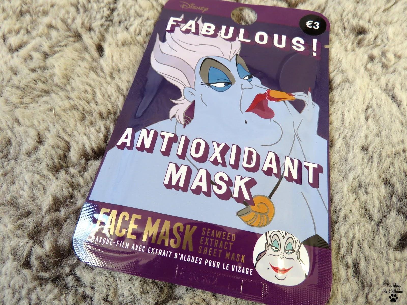 Face Mask - Antioxidant Mask - Extrait d'Algues - Primark