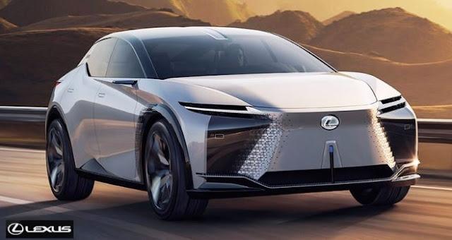 lexus luxury electric cars