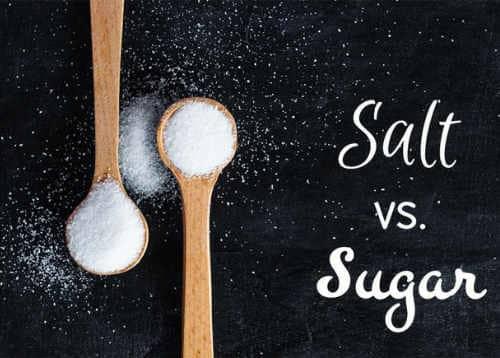 الملح أو السكر .. أيهما أسوأ ؟