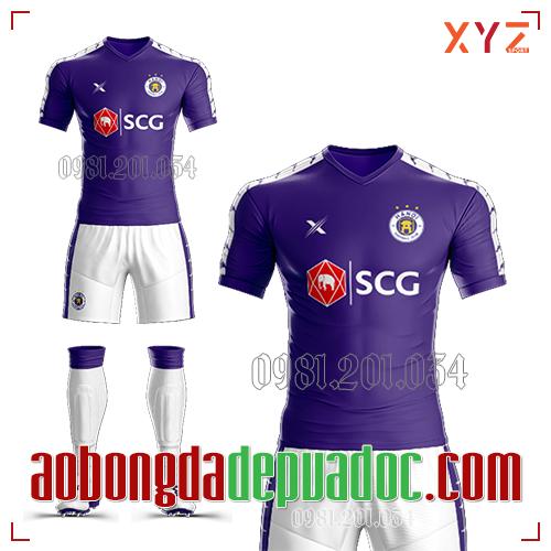 Áo Hà Nội FC 2019 Màu Tím