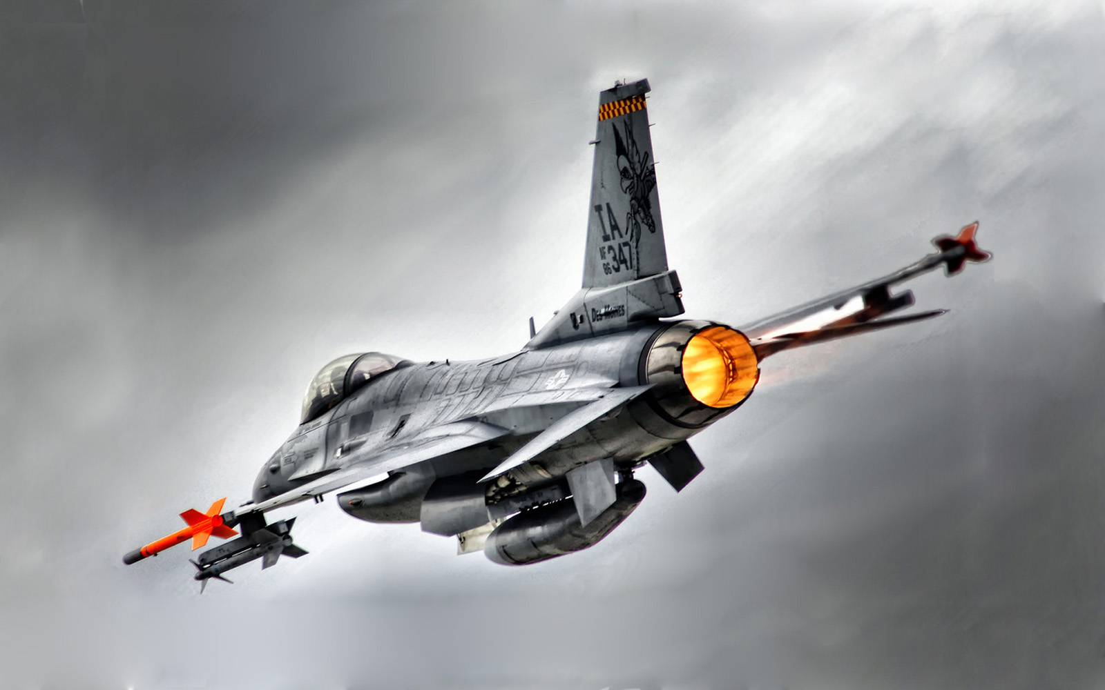 F-16 Fighting Falcon HD Wallpapers ~ Military WallBase