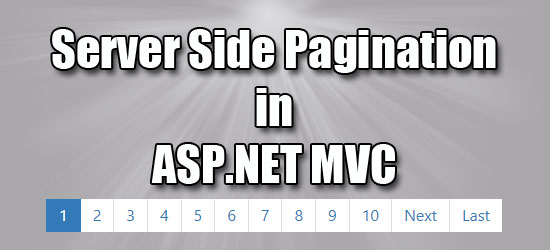 Server Side Pagination in ASP NET MVC ~ IT Tutorials with Example