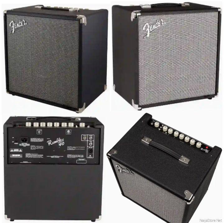 Fender Studio Amplifier Bass Speaker - Rumble 40 v3 Musical Sound Instrument