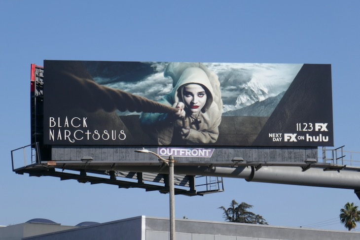 Black Narcissus series premiere billboard