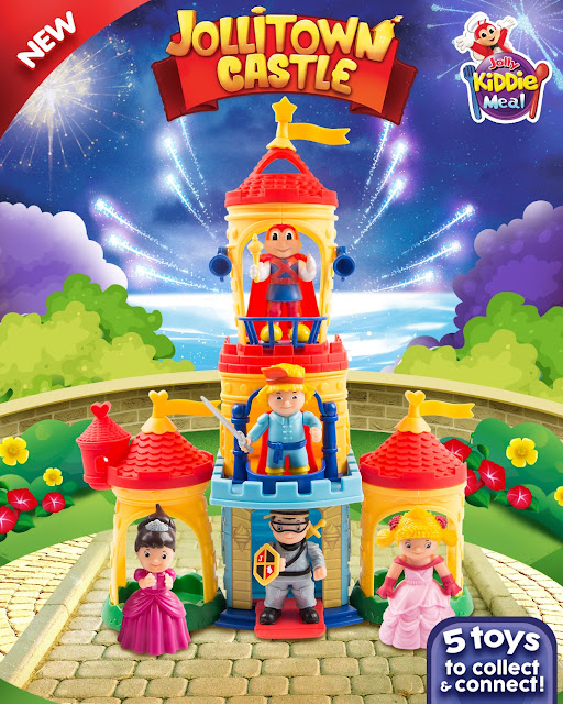 Kids Embark On A Royal Adventure With Jollitown Castle Kiddie Meal Toys