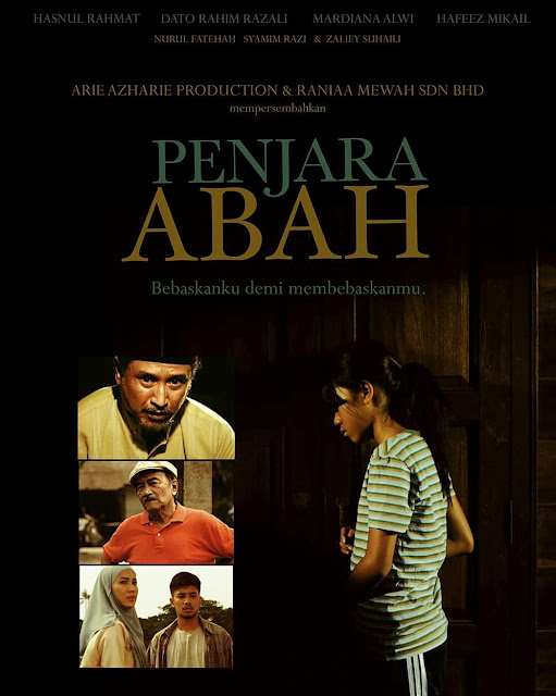 Telemovie Penjara Abah Lakonan  Hasnol Rahmat, Dato' Rahim Razali, Nurul Fatehah