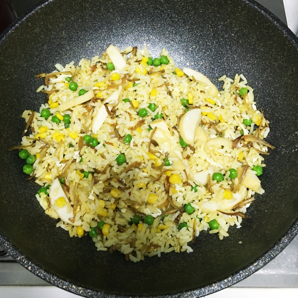 Ikan bilis fried rice cherie noms 7 you can then add in the ikan bilis and chopped spring onion add in seasoning and stir fry briefly ccuart Gallery