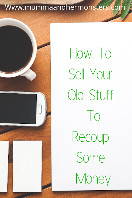 How To Sell Your Old Stuff To Recoup Some Money